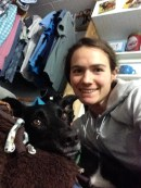 My dog Zip and I