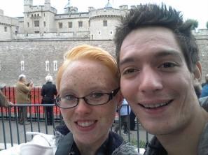 Me and Dan at the Tower!
