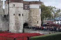The queue to go to the Tower