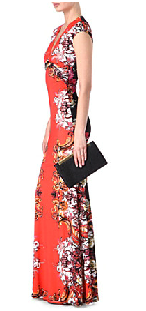 cavalli-printed-maxi-dress
