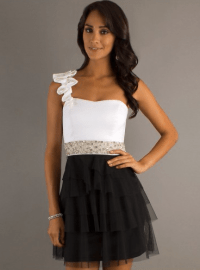 victoria-dress-white-black-short-prom-dress