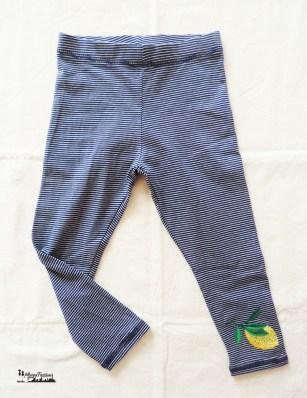 Next leggings stripes&lemon