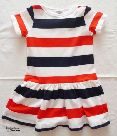 Petit Bateau stripes dress