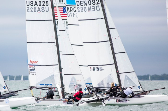 Summer sailing for David Hein