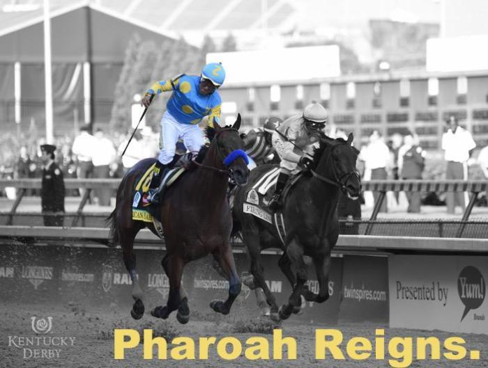 American Pharoah wins Kentucky Derby