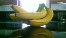 Bananas in My Sports Nutrition Kitchen Miami