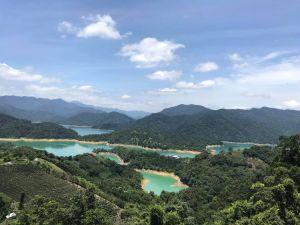 石碇千島湖,土虱頭,鱷魚島,八卦茶園,千島湖必去拍攝點