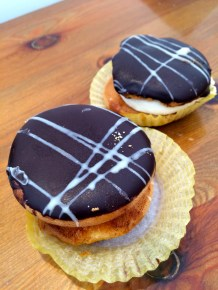 Kokakia - Greek Cream Puffs from Cretan Bakery in Karterados