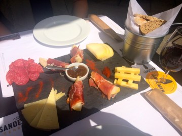 Our lunch at Sandeman
