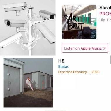 kamery, zrzut ekranu, apple music