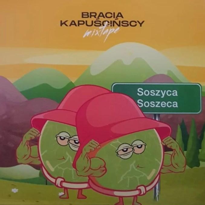 Osaka Bracia Kapuścińscy mixtape okładka