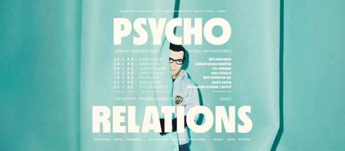 quebonafide psycho relations trasa