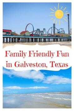 Family Friendly Fun in Galveston, Texas