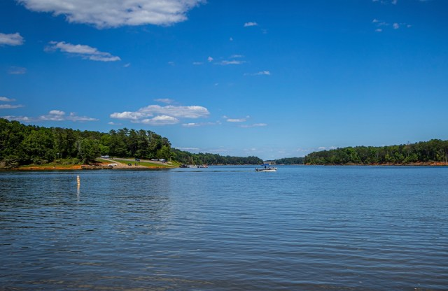 Boating is also one of the awesome outdoor activities at W Kerr Scott Dam