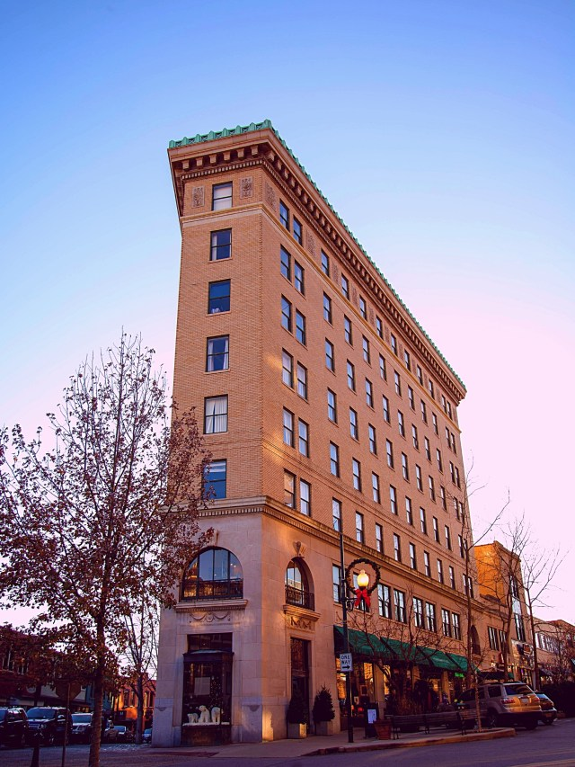 Flat Iron Building - Photographic Tour of Historic Downtown Asheville, N