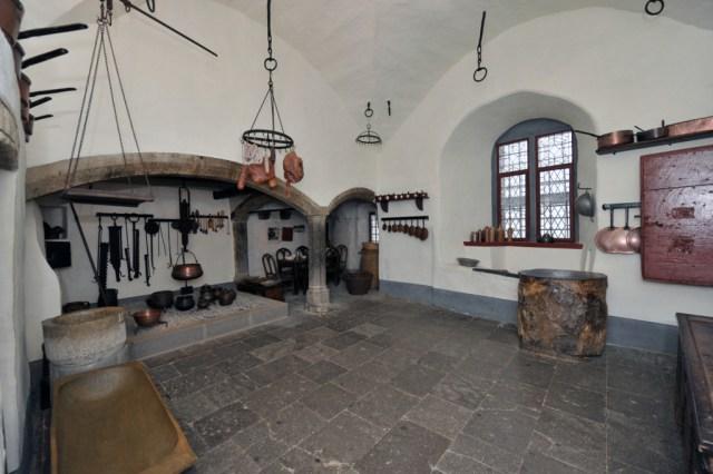 Eltz Castle - Kitchen