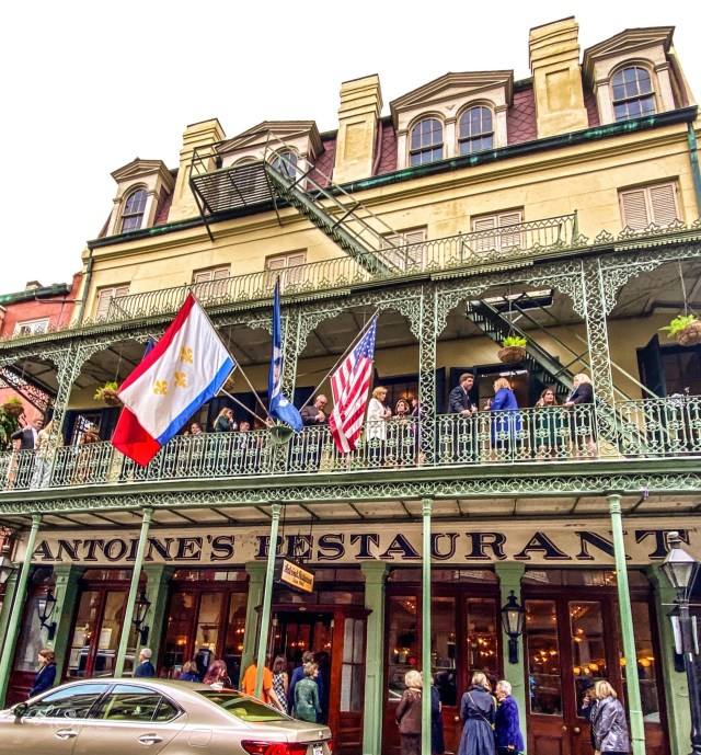 Antoine's is a favorite in New Orleans
