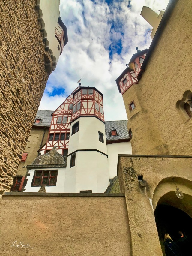 Eltz Castle - Towers View from outside
