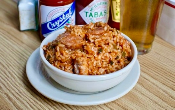 Jerry's Jambalaya at Mother's is a favorite in New Orleans