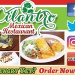 Cilantro Mexican Restaurant 2019.01.25 300×250