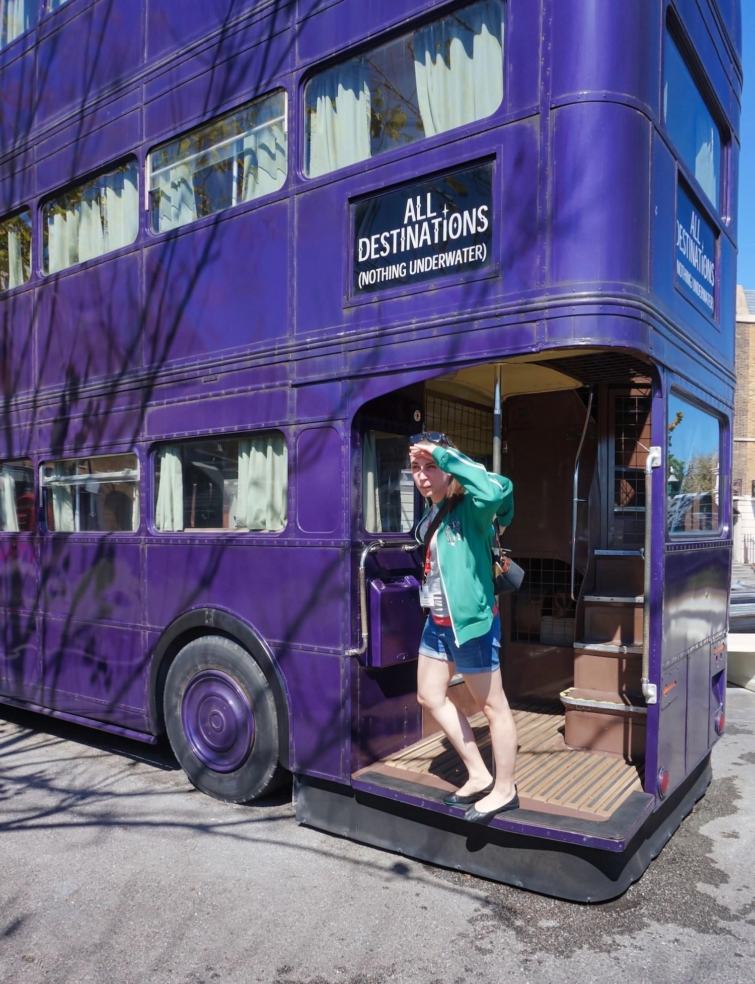 Wizarding World Orlando - London Knight Bus