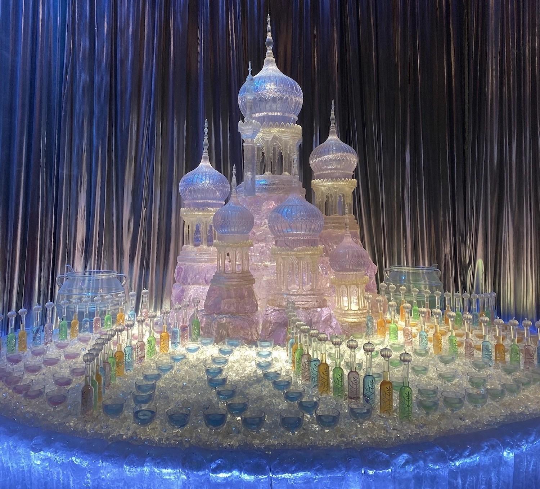 Harry Potter Studio Tour – Ice Sculpture