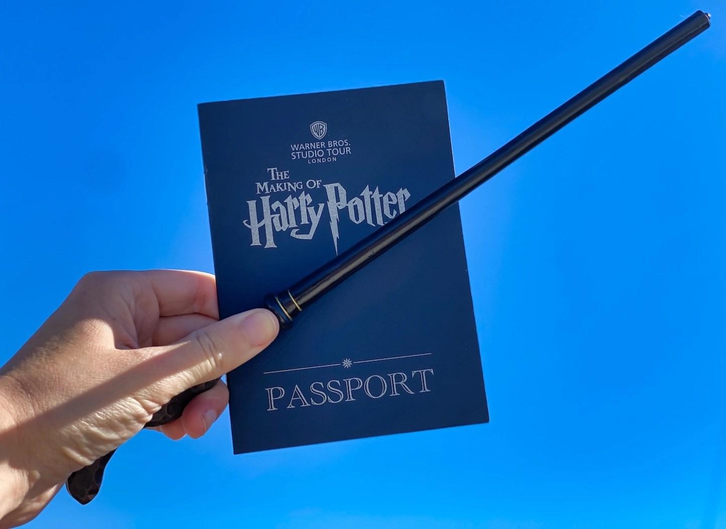 Harry Potter Studio Tour - Passport