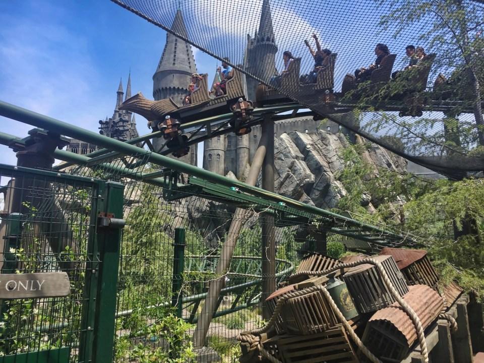 Harry Potter World Hollywood - Ride