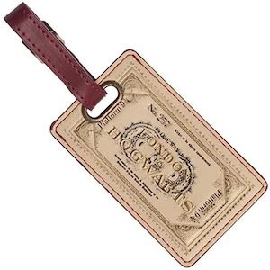 Hogwarts Express Ticket Luggage Tag