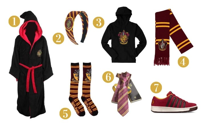 Gryffindor Gift Guide - Clothes