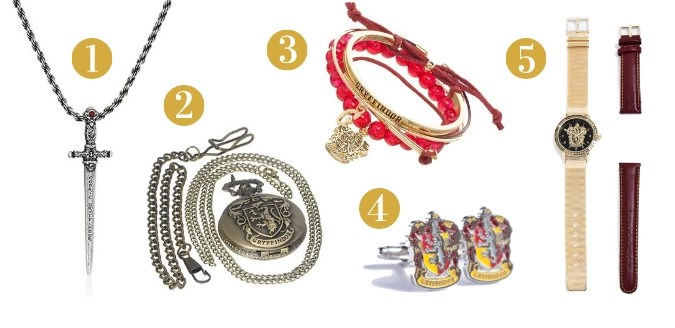 Gryffindor Gift Guide - Jewelry