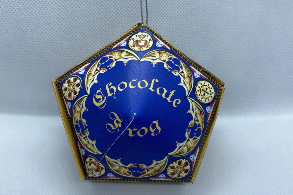 Harry Potter Ornaments - Chocolate Frog