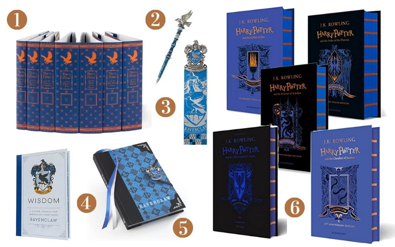 Ravenclaw Gift Guide - Books