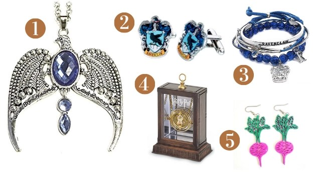 Ravenclaw Gift Guide - Jewelry