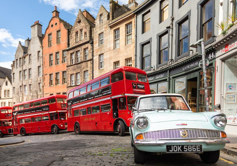 Harrry Potter in Edinburgh - Harry Potter Bus
