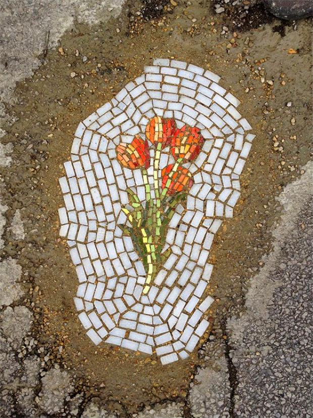 Jim Bachor buracos mosaicos