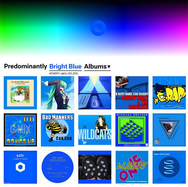 follow the colours música cor Predominant.ly 06