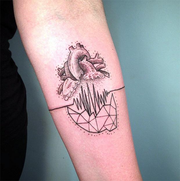tattoo tatuagem daniel matsumoto coração
