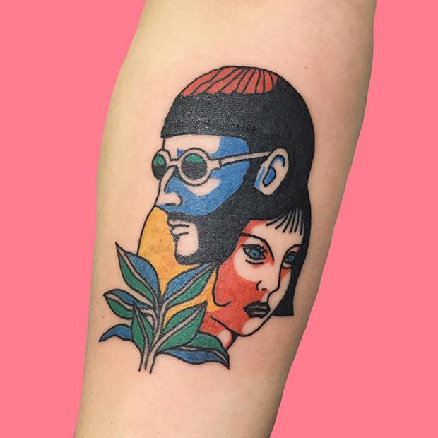 Kim Michey tatuagem tattoo