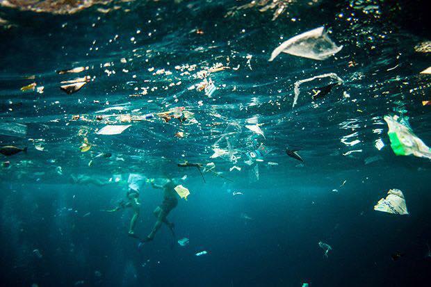 Adidas tênis materiais reciclados plástico oceano Primeknit poluição