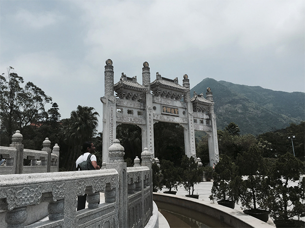 Hong Kong viagem templo