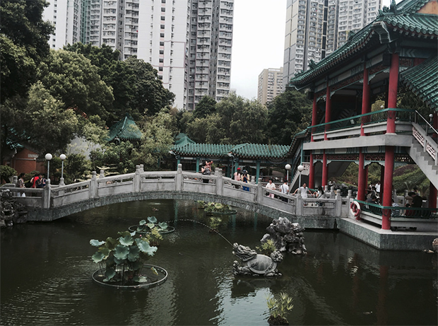 Hong Kong viagem jardim