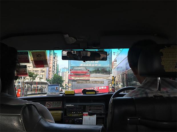 Hong Kong viagem taxi