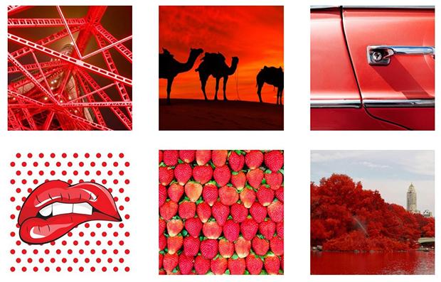 como escolher cor perfeita para sua marca vermelho