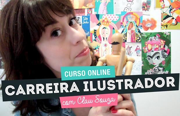 curso online ilustrador clau souza