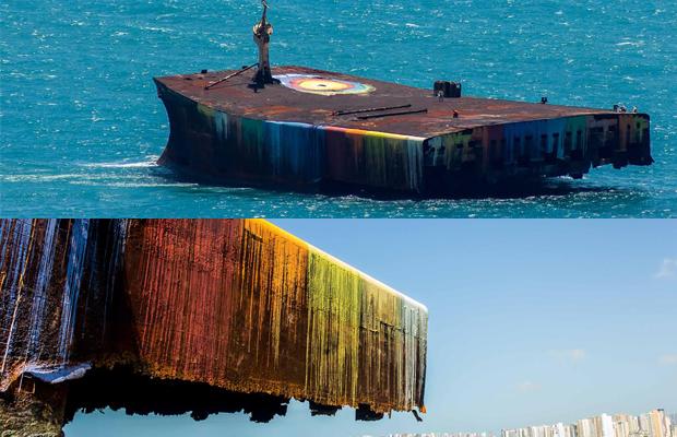 projeto para ver o mar navio cores Mara Hope