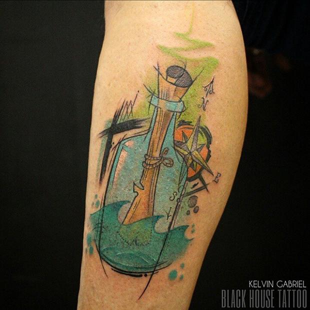 tattoo friday kelvin gabriel tatuagens aquarela watercolor tattoo