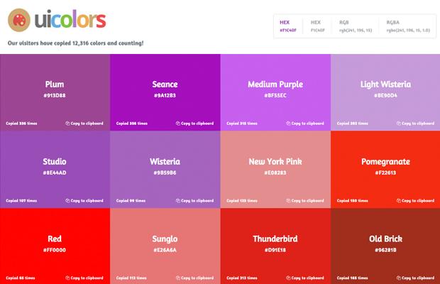 aplicativo cores Adobe Ui Colors