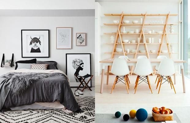 tendência de decoração em 2016 design estilo escandinavo