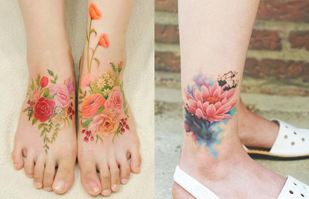 delicadas tatuagens